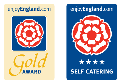 Enjoy England 4 Star Gold Award