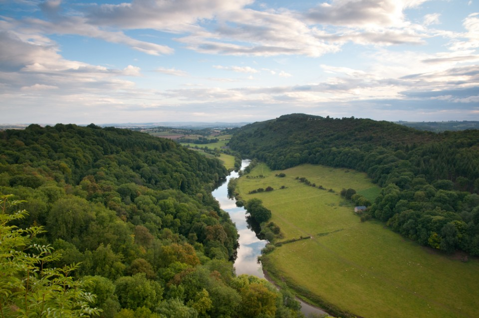 The beautiful Wye Valley