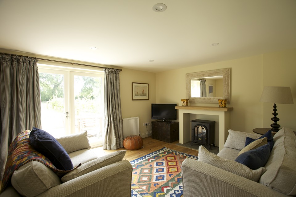 The sitting room in cottage