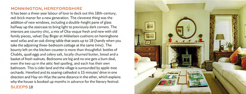 Condé Nast Traveller feature