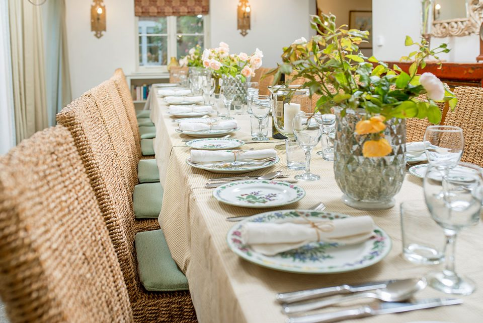Herbs by Royal Worcester tableware for your celebration meals