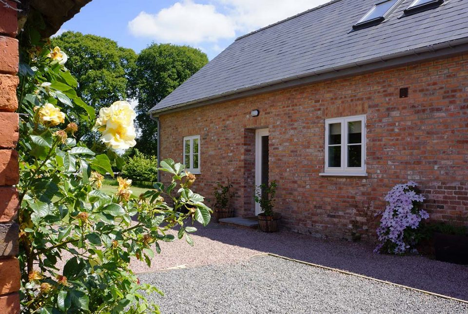 The cottage which provides 3 spacious bedrooms and 3 bathrooms